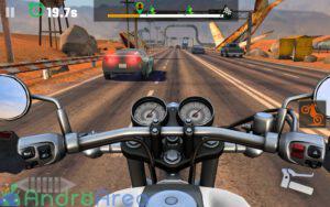moto rider go highway traffic androarea.com 1