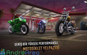 moto rider go highway traffic androarea.com 2
