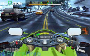 moto rider go highway traffic androarea.com 3