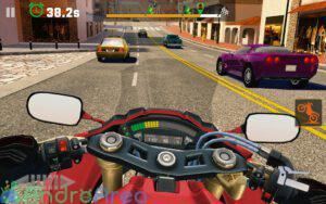 moto rider go highway traffic androarea.com 5