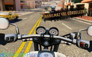 moto rider go highway traffic androarea.com 8