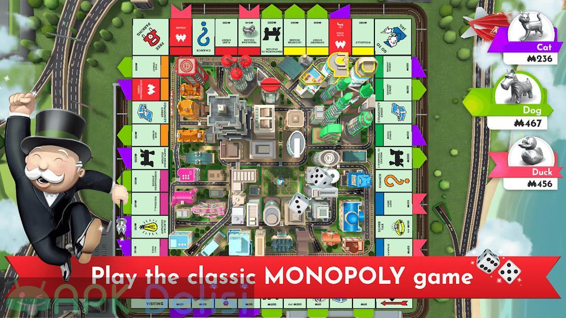 Monopoly v1.4.6 FULL / MOD APK — TAM SÜRÜM / TÜM KİLİTLER AÇIK 1