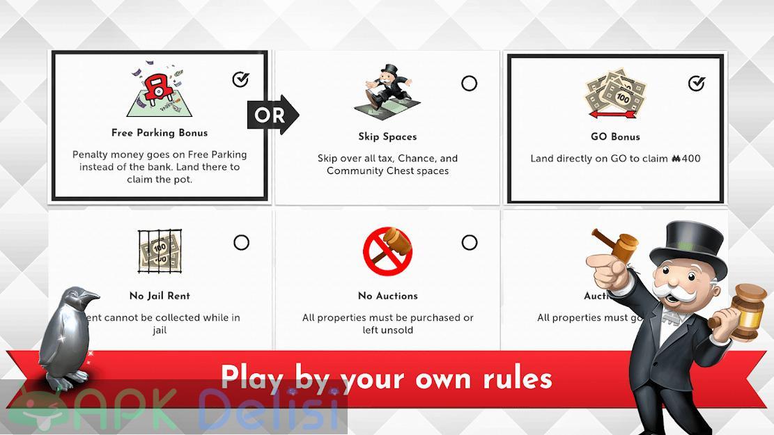 Monopoly v1.4.6 FULL / MOD APK — TAM SÜRÜM / TÜM KİLİTLER AÇIK 5
