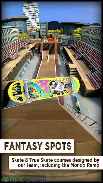 True Skate v1.5.33 FULL / MOD APK — FULL APK / PARA – KAYKAY HİLELİ 1