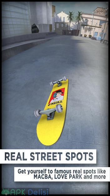 True Skate v1.5.33 FULL / MOD APK — FULL APK / PARA – KAYKAY HİLELİ 2