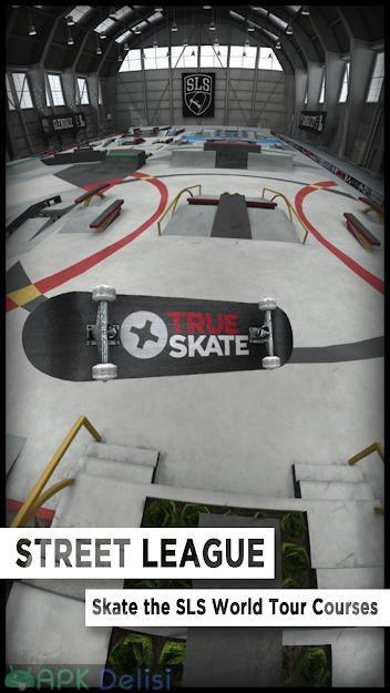True Skate v1.5.33 FULL / MOD APK — FULL APK / PARA – KAYKAY HİLELİ 3