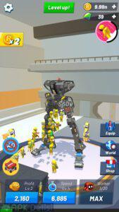 idle robot inc 1 0 21 mod apk elmas hileli 1