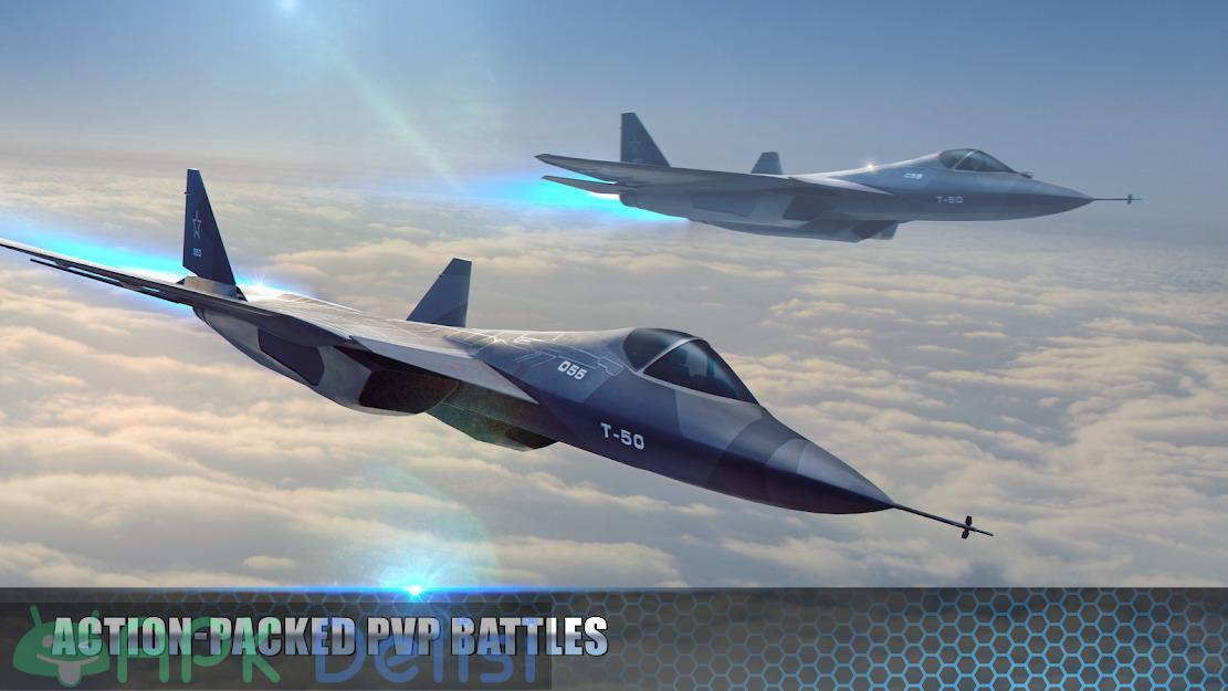 Modern Warplanes v1.17.4 MOD APK — SINIRSIZ ROKET HİLELİ 1