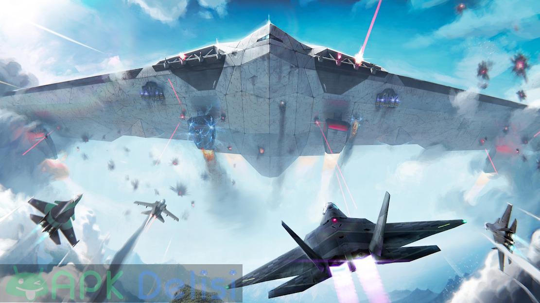 Modern Warplanes v1.17.4 MOD APK — SINIRSIZ ROKET HİLELİ 2