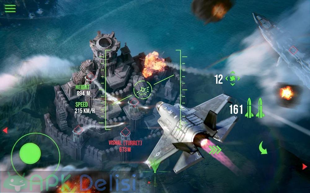 Modern Warplanes v1.17.4 MOD APK — SINIRSIZ ROKET HİLELİ 5