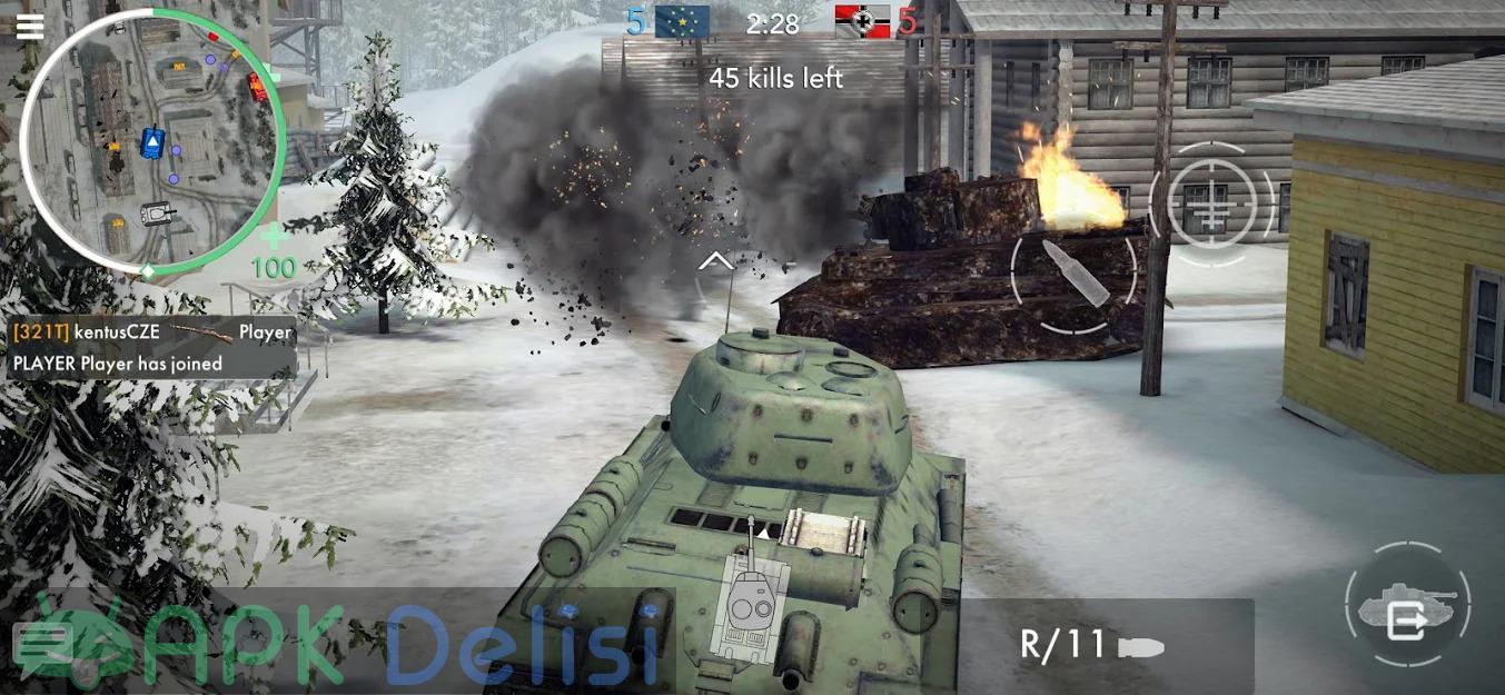 World War Heroes v1.29.2 MOD APK — SINIRSIZ MERMİ HİLELİ 5