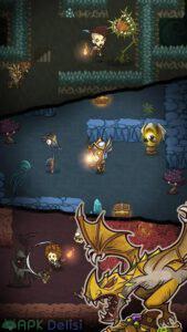 the greedy cave mod apk para hileli 2