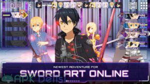 Sword Art Online Alicization Rising Steel mod apk 1