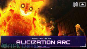 Sword Art Online Alicization Rising Steel mod apk 3