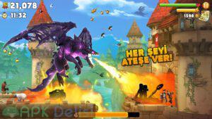hungry dragon mod apk para hileli elmas hileli apkdelisi.com 1
