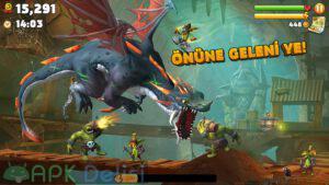 hungry dragon mod apk para hileli elmas hileli apkdelisi.com 2