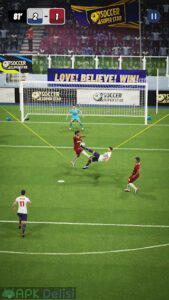 soccer super star mod apk can hileli apkdelisi.com 2