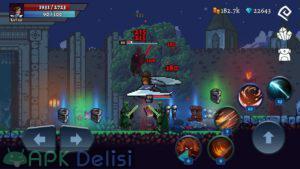 Darkrise Pixel Classic Action RPG hile mod apk indir 1