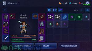 Darkrise Pixel Classic Action RPG hile mod apk indir 2