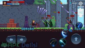 Darkrise Pixel Classic Action RPG hile mod apk indir 5