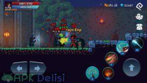 Darkrise Pixel Classic Action RPG hile mod apk indir 6