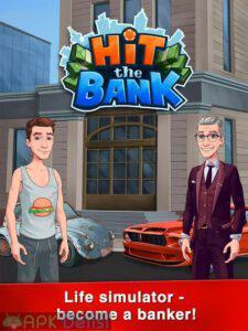 hit the bank life simulator mod apk para hileli apkdelisi.com 1