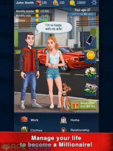 hit the bank life simulator mod apk para hileli apkdelisi.com 6
