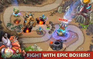 king of defense battle frontier mod apk mega hileli apkdelisi.com 1