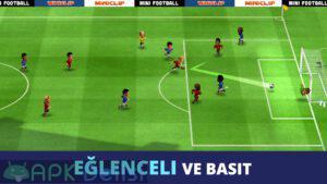 mini football mod apk kolay rakip hileli apkdelisi.com 1