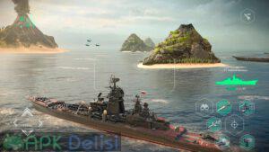 Modern Warships Sea Battle Online v0.45.8 MOD APK — MOD MENU HİLELİ 3