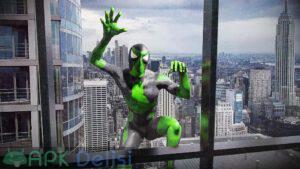 rope frog ninja hero mod apk para hileli apkdelisi.com 2