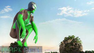 rope frog ninja hero mod apk para hileli apkdelisi.com 3