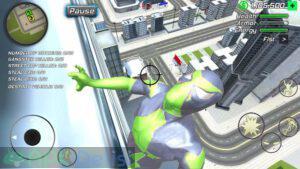 rope frog ninja hero mod apk para hileli apkdelisi.com 5