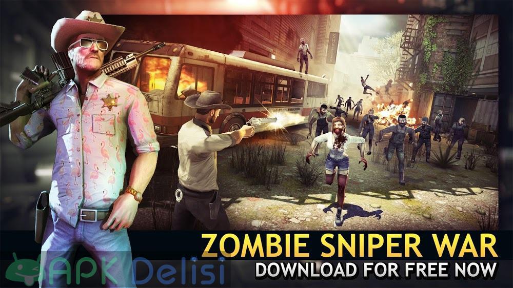 Last Hope Sniper Zombie War v3.3 MOD APK — PARA HİLELİ 4