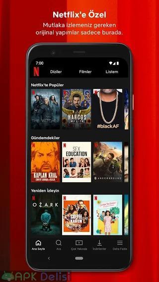 Netflix v8.3.0 PREMİUM MOD APK — TÜRKÇE DİZİ & FİLM İZLE (EKİM 2021) 2