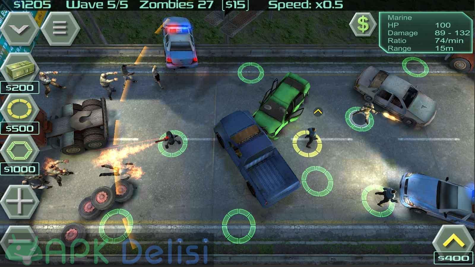 Zombie Defense v12.8.2 MOD APK — PARA HİLELİ 2
