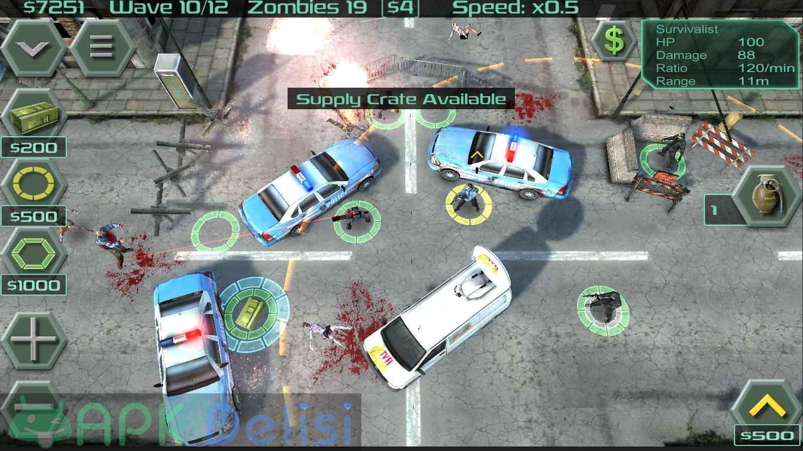 Zombie Defense v12.8.2 MOD APK — PARA HİLELİ 3