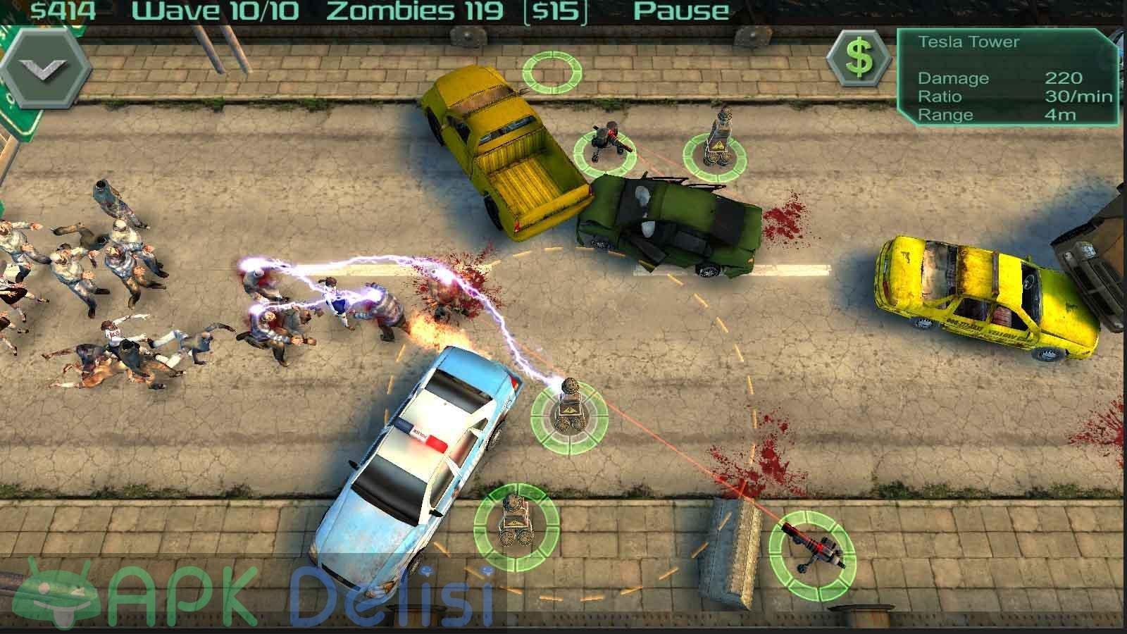 Zombie Defense v12.8.2 MOD APK — PARA HİLELİ 4