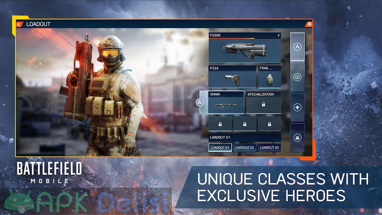 Battlefield Mobile FULL APK — TAM SÜRÜM 5