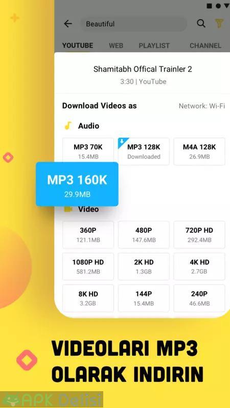 Snaptube Vip v5.19.0.5192910 MOD APK — Youtube video ve müzik indirici (2021 TEMMUZ) 5