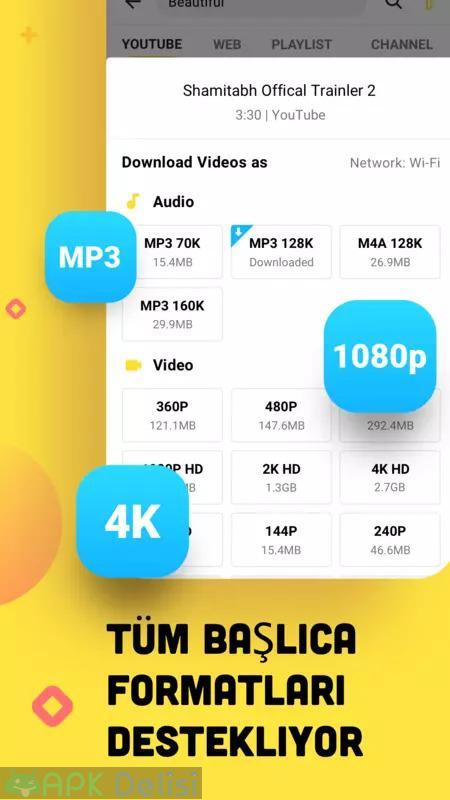 Snaptube Vip v5.19.0.5192910 MOD APK — Youtube video ve müzik indirici (2021 TEMMUZ) 8