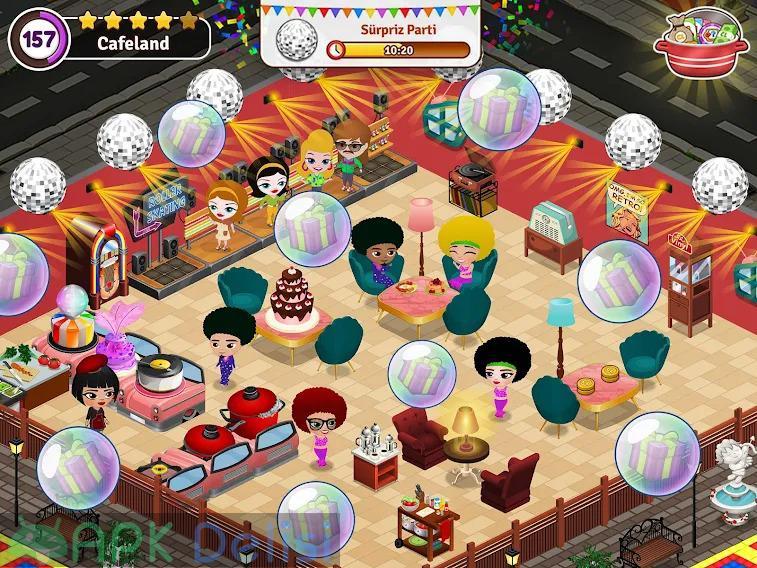 Cafeland Restoran Oyunu v2.1.83 MOD APK — PARA HİLELİ 5