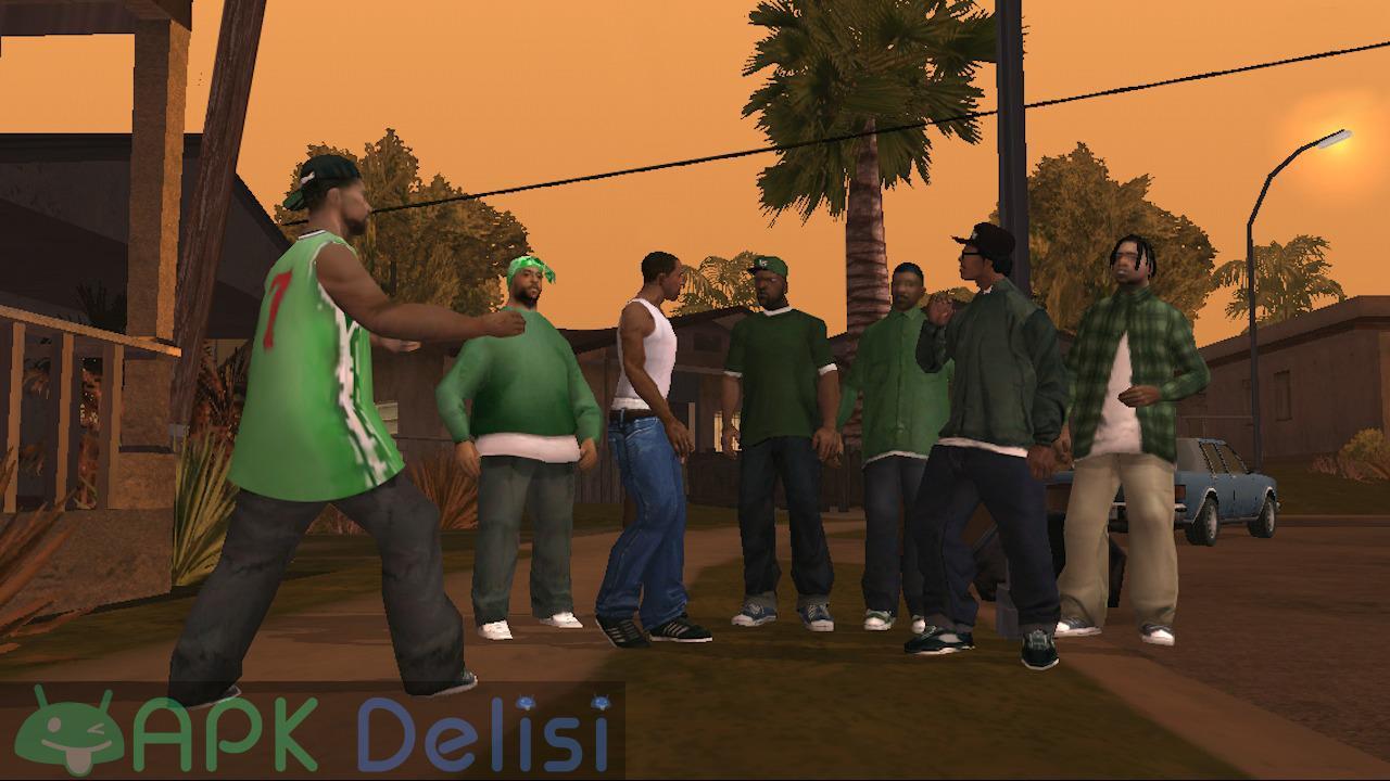 Grand Theft Auto San Andreas v2.00 FULL / MOD APK — TAM SÜRÜM / PARA HİLELİ 3