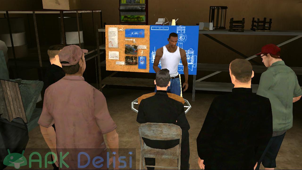 Grand Theft Auto San Andreas v2.00 FULL / MOD APK — TAM SÜRÜM / PARA HİLELİ 5