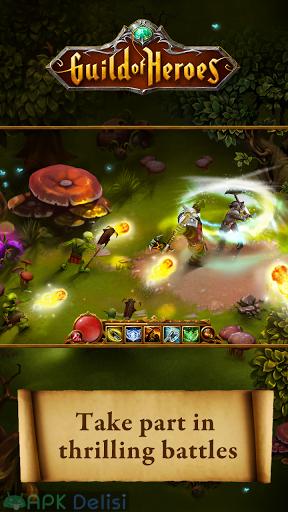 Guild of Heroes Fantasy RPG v1.117.5 MOD APK — MEGA HİLELİ 2
