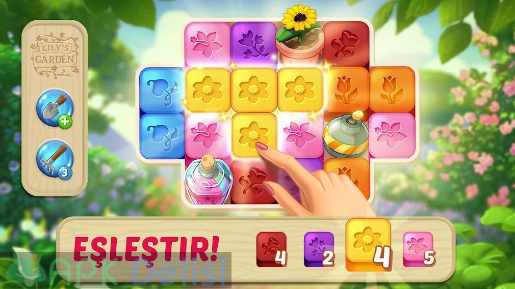 Lilys Garden v2.2.0 MOD APK — SINIRSIZ PARA HİLELİ 4