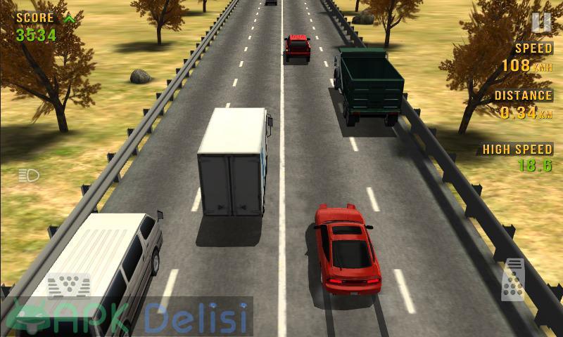 Traffic Racer v3.5 MOD APK — PARA HİLELİ 1