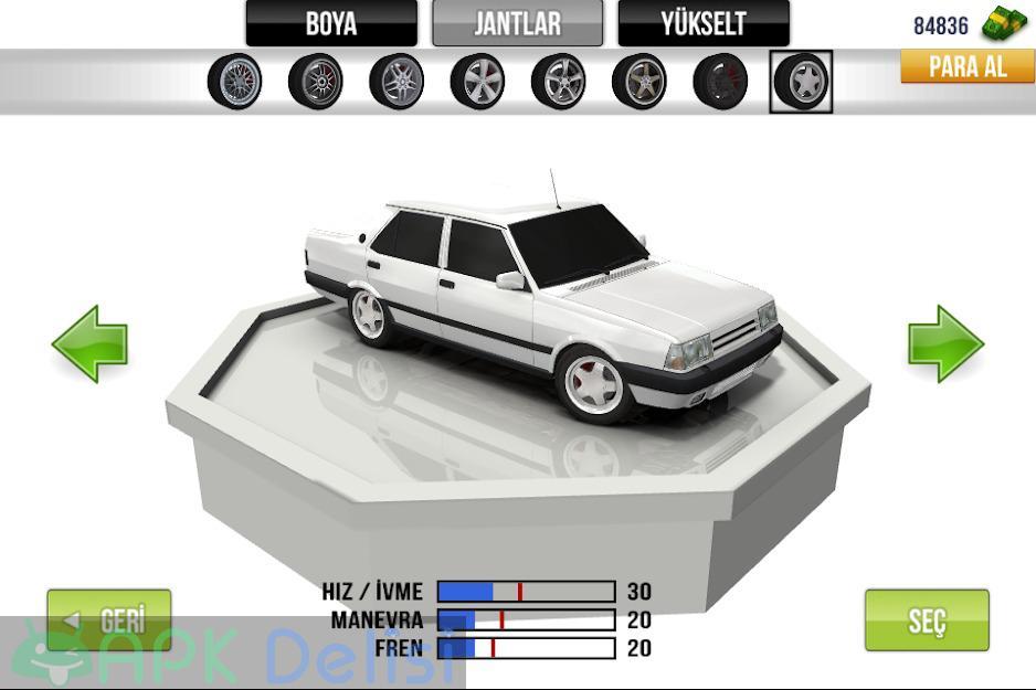 Traffic Racer v3.5 MOD APK — PARA HİLELİ 3