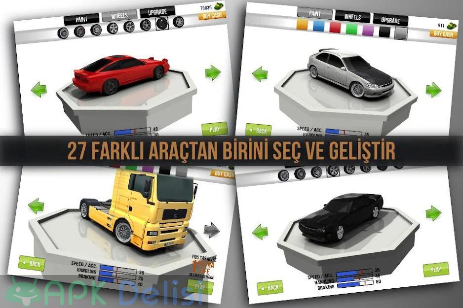 Traffic Racer v3.5 MOD APK — PARA HİLELİ 4