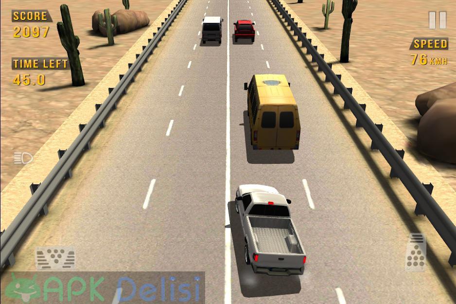 Traffic Racer v3.5 MOD APK — PARA HİLELİ 5